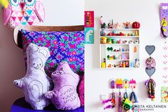 colourful #kids' room