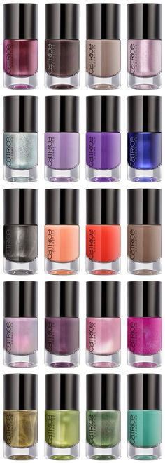 Catrice - Whats New For Nails Fall/Winter 2014