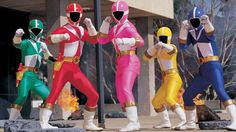 Go Go Power Rangers! Lightspeed Rescue Complete Series