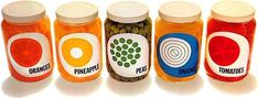 14 Examples Of Fantastic Packaging Design From The '60s And '70s  - i want to pickle some things with these as my design!