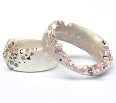 Beautiful rings by Polly Wales