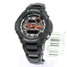 Women's Wrist Watches - Casio GShock GW3500BD Premium Multi Band 6 Solar Chrono Watch -- Details can be found by clicking on the image.