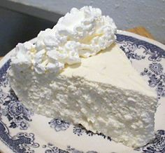 Pinner says -No-Bake Lemon Cheesecake. Made it for Thanksgiving... people who don't eat low carb raved about it..