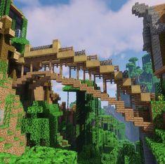 Minecraft Garden, Minecraft Farm, Minecraft Mansion, Minecraft Houses Survival, Easy Minecraft Houses, Minecraft Plans, Minecraft House Designs, Minecraft Construction, Amazing Minecraft