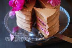 Coffee Mascarpone Layer Cake