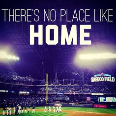 It's good to be back. #Mariners #ILoveSafecoField