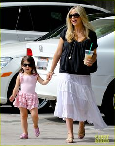 Sarah Michelle Gellar and her daughter Charlotte make their way to her ballet class
