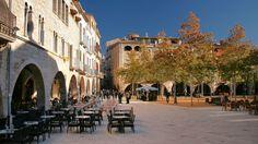 Plaça Major (Banyoles, Girona, Spain)