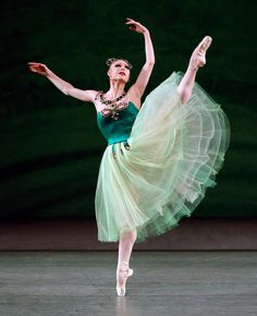 "Sara Mearns, ""Emeralds"" from ""Jewels"", New York City Ballet"