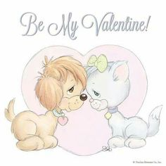 Be my Valentine Valentine Images, Valentine Crafts, Be My Valentine, Animal Coloring Pages, Adult Coloring, Precious Moments, Space Theme Preschool, Bird Cards, Inspirational Thoughts