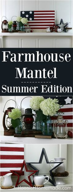 Farmhouse Mantel Dec