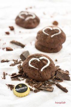 Recipe for guinness chocolate cookies // Rezept für Guinness Kekse mit Schokolade