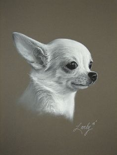 11 X 14 Custom Dog Pet Portrait Original Fine by HallowedEarth, $149.00