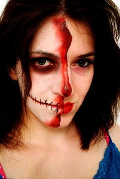 Halloween makeup tutorial #costume #halloween #skeleton