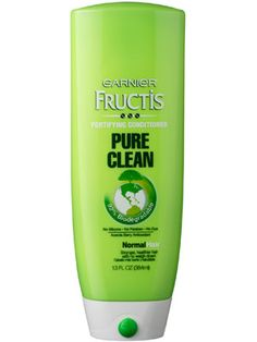 Garnier Fructis Pure Clean Conditioner - Silicone and Sulfate Free - Makes my hair so curly.