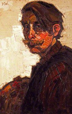 Kyffin Williams (Pays de Galles, 1918-2006) – Self Portrait (1968)