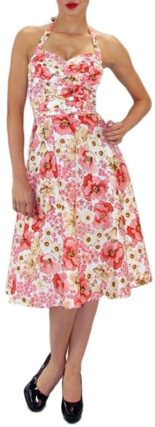 I would have loved to have a 50's dress like this one♥
