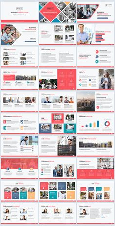 Elite corporate PowerPoint template makes your presentation slides sizzle #PowerPoint #PPtTemplate #presentations