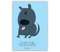 Humor Spruchkarte mit Hund - http://www.1agrusskarten.de/shop/humor-spruchkarte-mit-hund/    00012_0_1383, Comic, Grafik, Grußkarte, Helga Bühler, Humor, Hund, Klappkarte, Spruch, Zitat00012_0_1383, Comic, Grafik, Grußkarte, Helga Bühler, Humor, Hund, Klappkarte, Spruch, Zitat