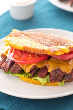 Jibarito Recipe: Puerto Rican sandwich with steak using plantains instead of bread! Haitian Food Recipes, Cuban Recipes, Whole 30 Recipes, Paleo Recipes, Cooking Recipes, Steak Recipes, Comida Boricua, Boricua Recipes, Jibarito Recipe