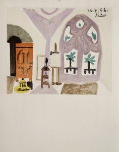 affiche de Picasso