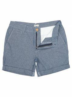 Another Influence Mens Blue Dotted Chambray Shorts Go Blue, Chambray, Men Fashion, Indigo, Bermuda Shorts, Denim, Stylish, Shirts, Color