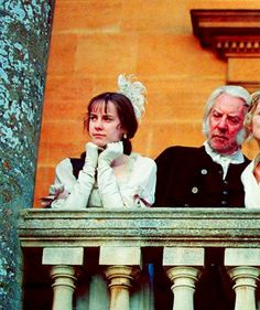 That awkward moment when President Snow was Johanna's dad in Pride & Prejudice.  Didn't you know? :)