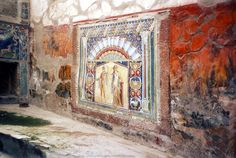 Ercolano (Herculaneum, destroyed with four other cites in 79 A.D. after the eruption of Vesuvius.  Pompeii is simply the most famous of the five.)
