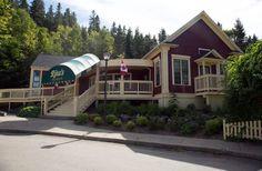 Rita MacNeil's Tea Room, Cape Breton NS Canadian Travel, Cape Breton, Places Ive Been, Cabin, House Styles, Room, Tea, Home Decor, Image