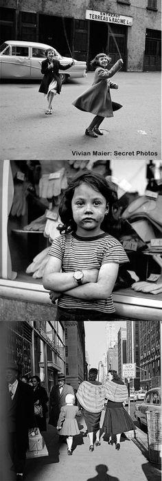 Vivian Maier's Secret Photos Never Seen Until Negative Discovered in a Storage Locker