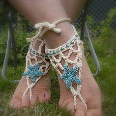Crochet - Micro crochet - Rouge - Pique-aiguilles - Barbecue - Pieds de sirène - Le blog de marjolaine