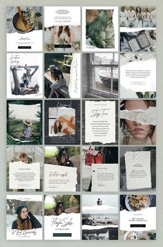 Now including Vertical Posts format 1200 X 1500 PX design Paper Animated Stories - Social Kit Magazine Layout Design, Book Design Layout, Album Design, Photo Book Design, Magazine Design Inspiration, Magazine Layouts, Instagram Design, Feeds Instagram, Instagram Story