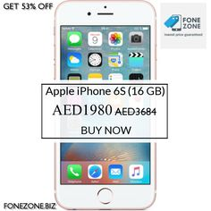 GET {{53% OFF}} on Apple iPhone 6S (16 GB). Hurry, sale ending soon! Check out our discounted products now: {{https://fonezone.biz/products/apple-iphone-6s-16-gb}}  Get Additional 5% OFF Use Code: FONEZONEKARO