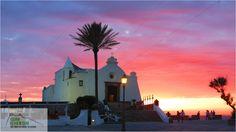 Chiesa del Soccorso at Sunset, Forio, Ischia