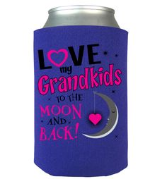 Quality Hoodies and tees... http://zapbest.com/products/to-the-moon-and-back-can-koozie  Made just for you! Printed in USA Fast Shipping! In Stock. Can Ship