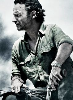 Andrew Lincoln as Rick Grimes for 'The Walking Dead' Season 6
