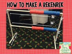 Mrs Jump's class: How to make a Rekenrek. Such a great tool for students to learn about number patterns and relationships!
