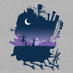 Today's T : 今日の「ハウルの動く城」 Tシャツ