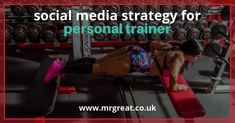 The social media strategies for personal trainers, will serve as an eye opener that we as a social media advertising company in London decided to share with all personal trainers out there. Social Media Marketing Agency, Social Media Pages, Personal Trainer, Fitness Tips, Trainers, London, Business, Tennis, Fitness Hacks