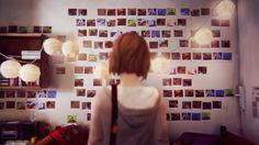 Fun Fact: The Max Caulfield Photo Memorial Wall consists of 150 photographs.