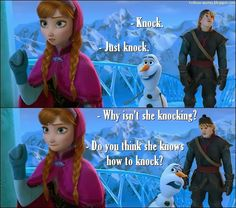 TV Quotes: Frozen - Quote - Knocking