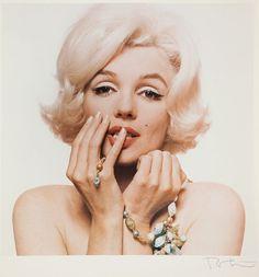 """Marylin Monroe z cyklu """"Last Sitting"""" z 1962 roku. Jego cena wywoławcza to 4,5 tys."""