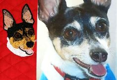 Embroidery Digitizing Photo to Stitch by Apex Embroidery http://apexembdesigns.com/custom-digitizing