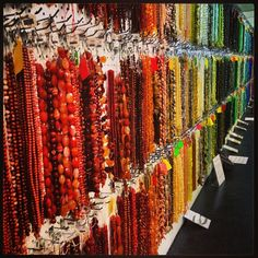 Photo from one of the Potomac Bead Company retail bead stores in the US & Europe! www.potomacbeads.com Buy Online: www.thebeadco.com