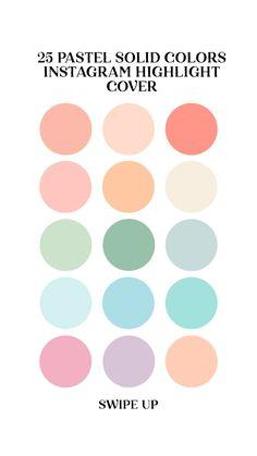 Color Schemes Colour Palettes, Pastel Colour Palette, Colour Pallette, Pastel Colors, Pastel Color Wallpaper, Colours, Design Stand, Design Design, Pastel Highlights