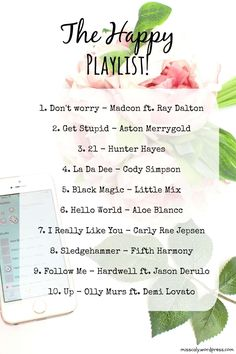 the happy playlist