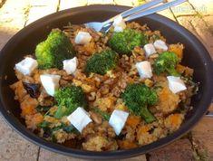 Quinoa s batátom a brokolicou (fotorecept)