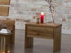 Stolik nocny z drewna dębowego - kolekcja Dream Bedroom