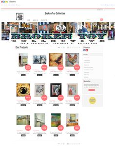 brokentoycollective #ebay store designed with eBay Store Designer