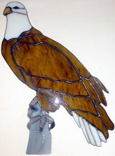 C-170 Art Glass Bird Eagle